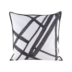 Intersections Pillow With Goose Down Insert