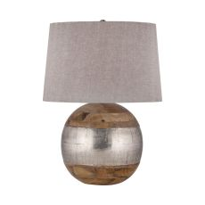 German Silver Table Lamp