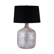 Antique Mercury Glass Jug Lamp