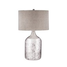 Tapered Mercury Glass Jug Lamp