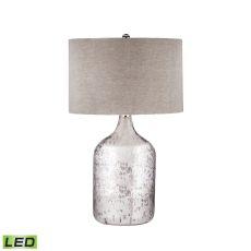 Tapered Mercury Glass Jug Led Lamp