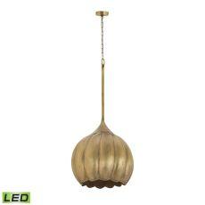 Iron Melon Large Led Ceiling Lamp