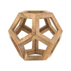 Wooden Honeycomb Orb