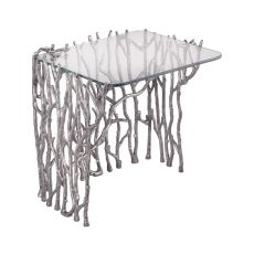 Silvered Sticks Side Table