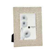 Ripple Texture 4X6 Photo Frame In Silver