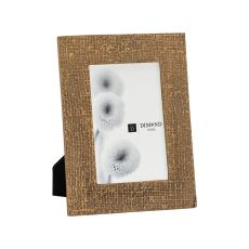 Ripple Texture 4X6 Photo Frame In Rose Gold