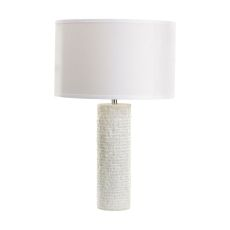 Rough Round Marble Table Lamp