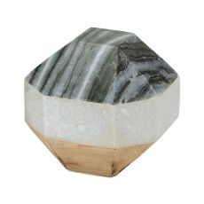 Marble And Wood Dodecahedron