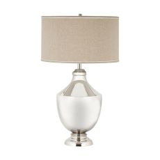 Massive Brass Urn Table Lamp