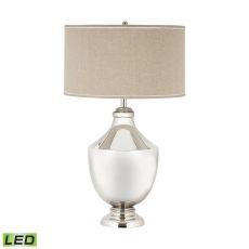 Massive Brass Urn Led Table Lamp