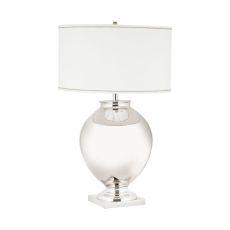 Massive Brass Globe Table Lamp