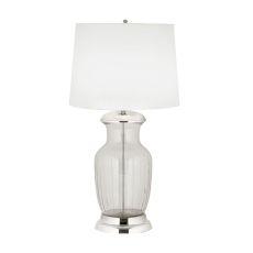 Massive Glass Urn Table Lamp