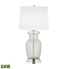 Massive Glass Urn Led Table Lamp