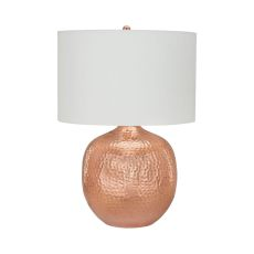 Praha 1 Light Table Lamp In Polished Copper