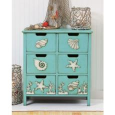 6 Drawer Cabinet With Shells