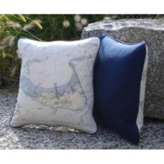 Pillow With A Navigation Chart