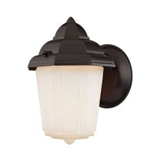 1 Light Outdoor Wall Sconce In Oil Rubbed Bronze