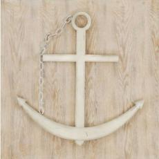 Ship's Anchor Art Plaque