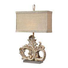Springfield Table Lamp In Presidente Finish