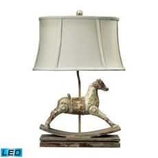 Carnavale Rocking Horse Led Table Lamp In Clancey Court Finish