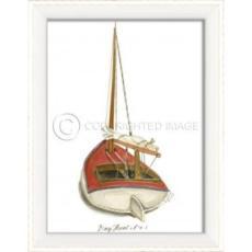 Day Boat No.1 Framed Art
