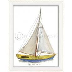 Day Boat No.2 Framed Art