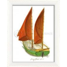 Day Boat No.3 Framed Art