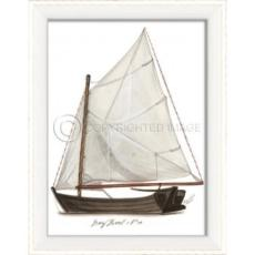 Day Boat No.4 Framed Art
