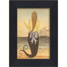 Love Sick on Friday Mermaid Framed Art