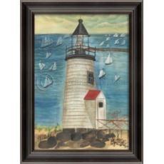 Brant Point Lighthouse Framed Art