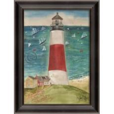The Path to Sankaty Lighthouse Framed Art