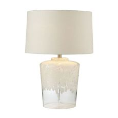 "25"" Flurry Frit Well Boutique Glass Lamp"