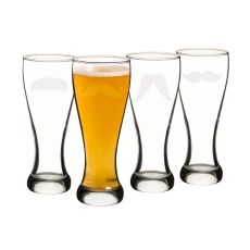 20 Oz. Gentleman'S Mustache Pilsners (Set Of 4)