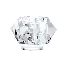 Faceted Star Crystal Candleholder - Large