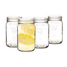Personalized 16 Oz. Mason Jars (Set Of 4)