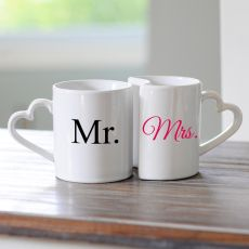 10 Oz. Mr. & Mrs. Coffee Mug Set