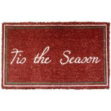 Tis the Season Hand Woven Coconut Fiber Doormat