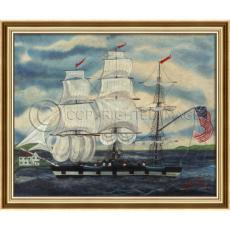 A Sailor's Home - Ship Framed Art