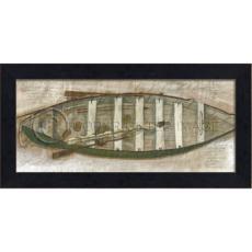 Yankee Whaler Boat Framed Ship Art