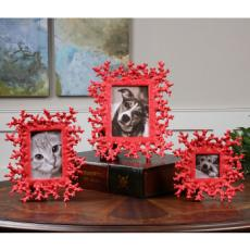 Red Coral, Photo Frames, S/3