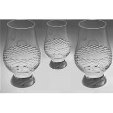 Diamond Scotch Glass