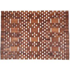 Mills Exotic Wood Mat - Natural 18x30