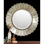 Amberlyn Sunburst Gold Mirror