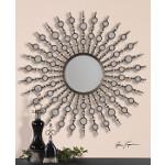 Kimani Sunburst Silver Mirror
