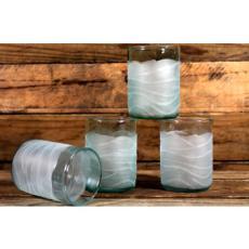 Glacier Glass 12oz tumbler set of 4