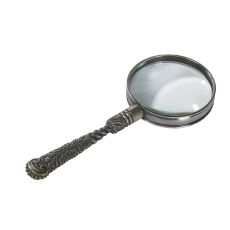 Rococo Magnifier, Bronze