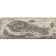 Venice wall Map 1694
