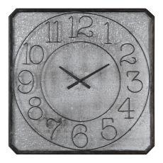 Uttermost Dominic Galvanized Metal Wall Clock