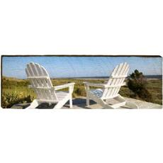Adirondack Chairs Wall Art