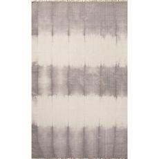 Tribal Pattern  Wool Agua Area Rug